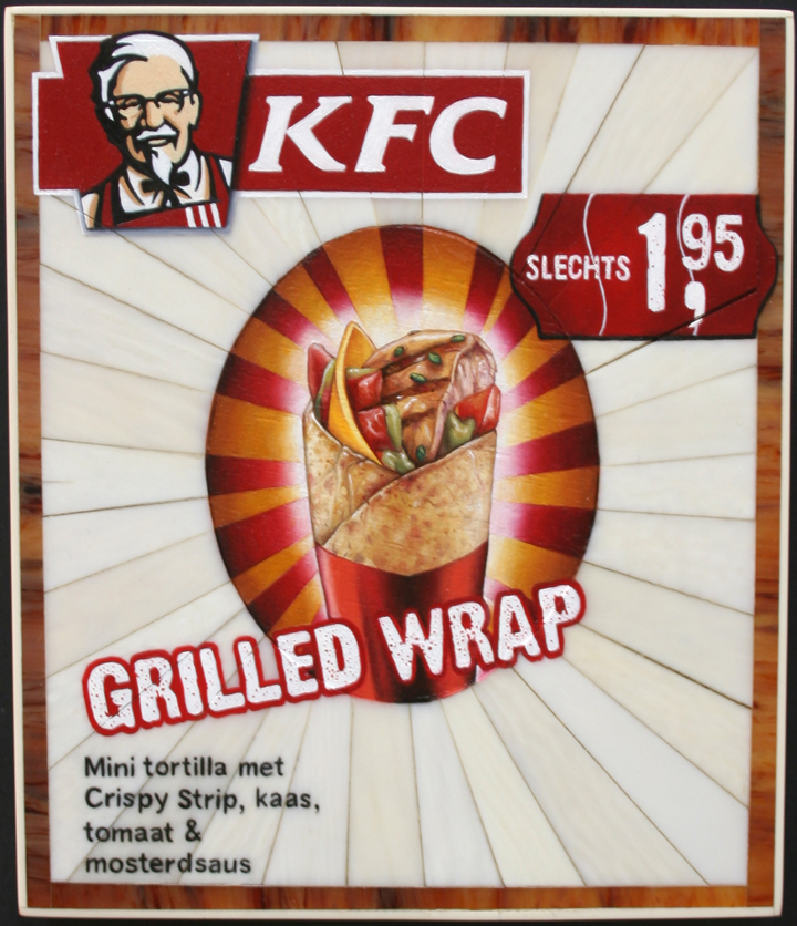 Grilled wrap