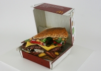Commodity Fetishism- Big Tasty with bacon